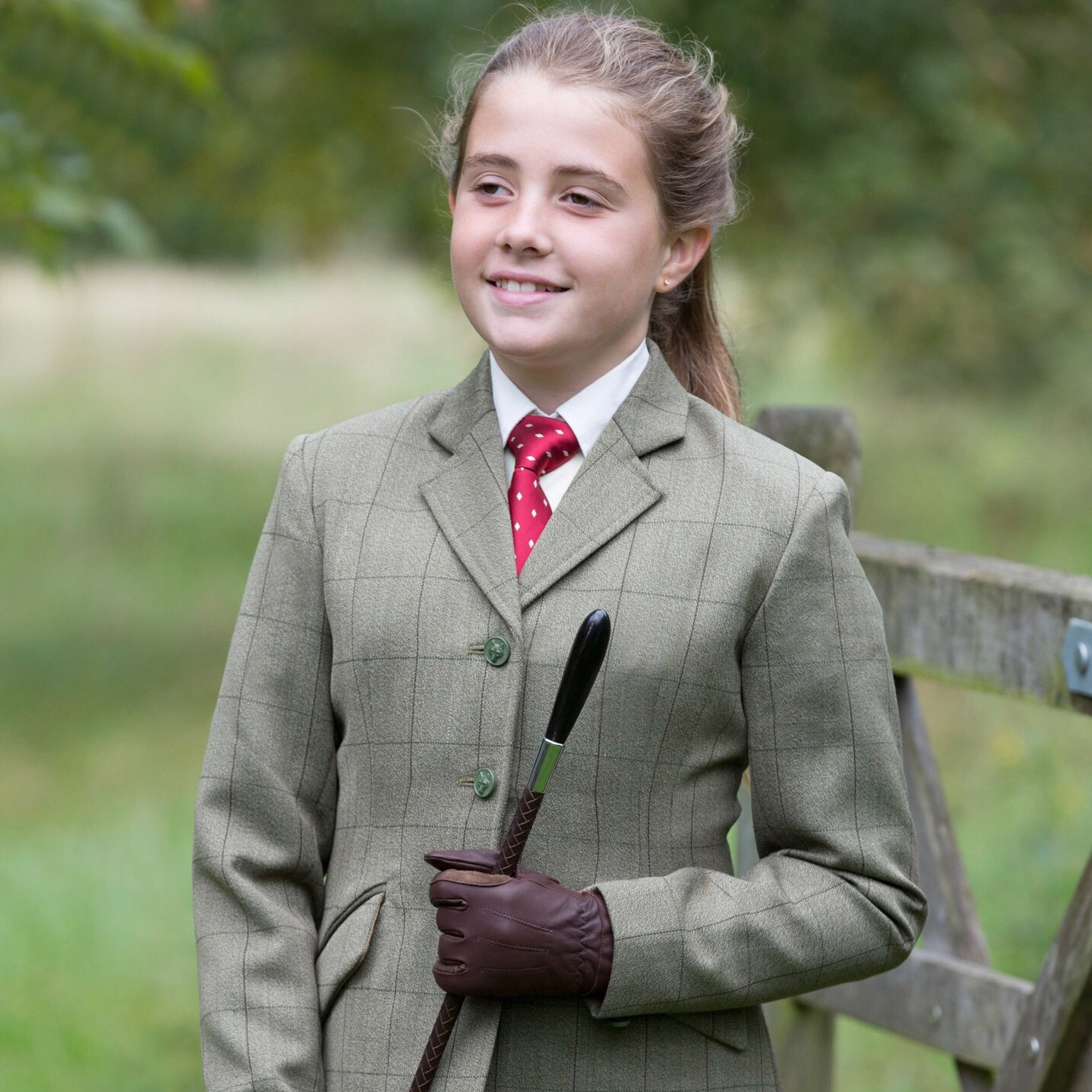 Equetech Foxbury Boys Tweed Riding Jacket