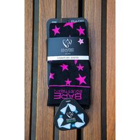 BARE Ecoluxe Recycled Childs Sock - Pink Star