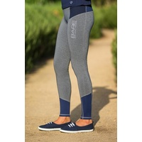 BARE No Grip Performance Tights - Blue Steel