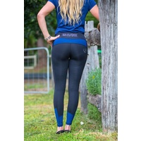 BARE No Grip Performance Tights - Royal Rider