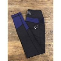 BARE Performance Tights Youth - Royal Rider