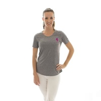 E.A. Direct Ladies Cavaletti Tee - Steel Marle