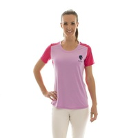 E.A. Direct Ladies Cavaletti Tee - Violet Tulle/Azalea
