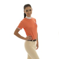 E.A. Direct Ladies Wall Show Shirt - Hot Coral