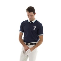 E.A. Direct Men's Polo Shirt Double - Navy
