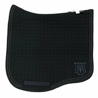 E.A Mattes Eurofit Saddle Pad - Black & Graphite