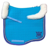E.A Mattes Eurofit Full Fleece Saddle Pad - Turquoise & Lavender