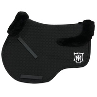 E.A Mattes Top Fleece Jump Saddle Pad - Black