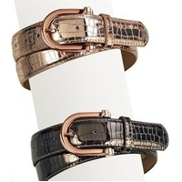 Ovation® Metallic Belt