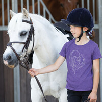 Equetech Childs Hold My Heart Tee