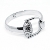 Equetech Snaffles Bit Diamante Bangle