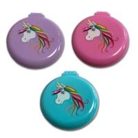 Equetech Unicorn Compact Hairbrush Mirror
