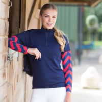 Equetech Ladies Custom Cross Country Shirt - 150gsm Airflow