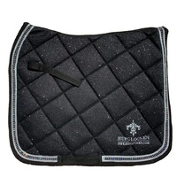 Hufglocken Diamant Black Saddle Pad