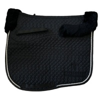 Hufglocken Olympia Black Saddle Pad