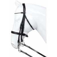Horka Delgado White Padded Weymouth Bridle