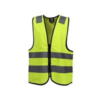 Horka Flurorescent and Reflective Zip Vest