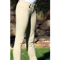 Peter Williams Childrens Pull On Full Suede Seat Jodhpurs