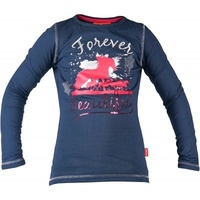 Red Horse Flash Long Sleeved T-Shirt