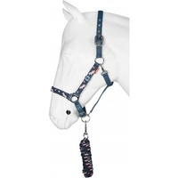 Red Horse Camouflage Halter Set