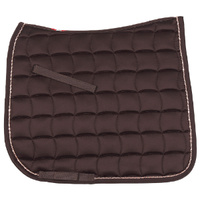 Zilco Bracelet Trim Dressage Saddlecloth - Brown