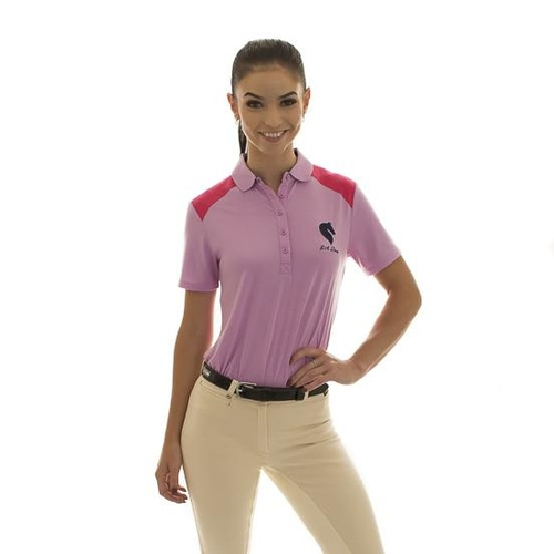 E.A. Direct Ladies Polo Shirt - Violet Tulle