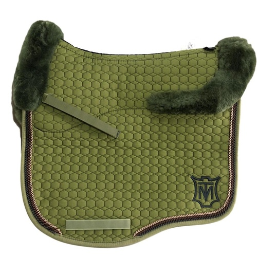 E.A Mattes Eurofit Top Fleece Saddle Pad - Olive