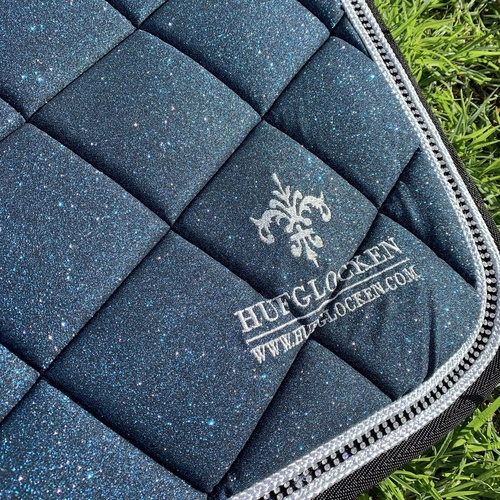 Hufglocken Diamant Dark Teal Saddle Pad